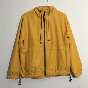 Mustard Lightweight Athletic Cut Jacket